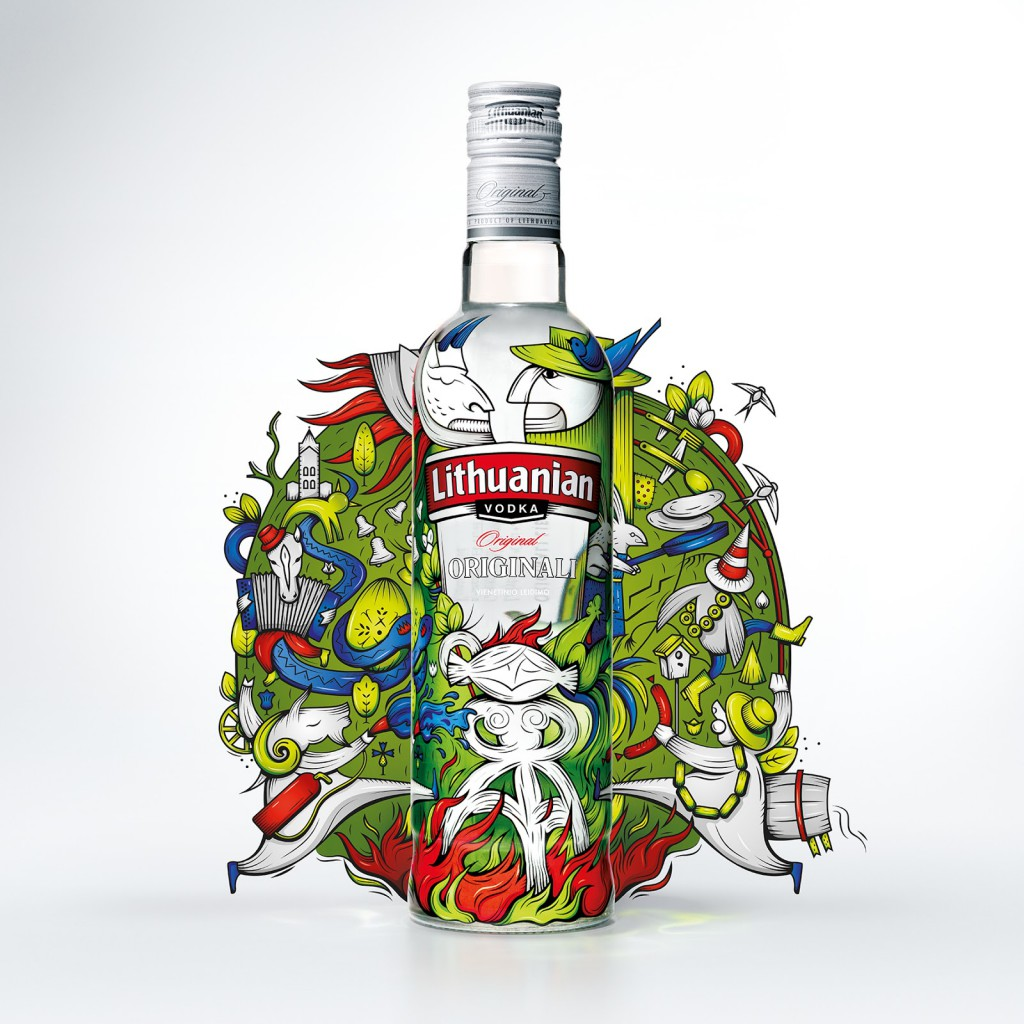 Lithuanian Vodka Limited Edition