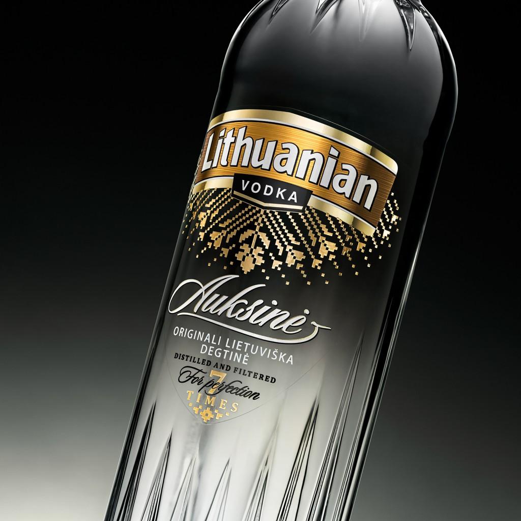 Lithuanian Vodka Gold atnaujinimas