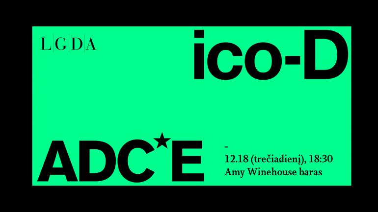ADC*E ir ico-D